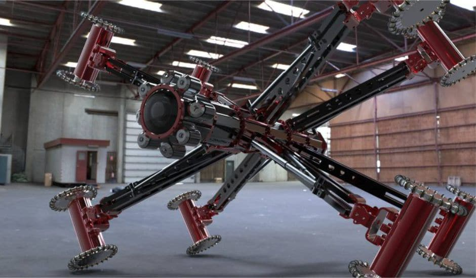 Robotic Crawler Cameras Sa Leak