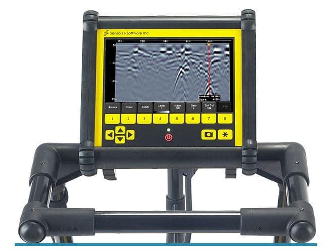 Ground Penetrating Radar LMX 100 – SA Leak
